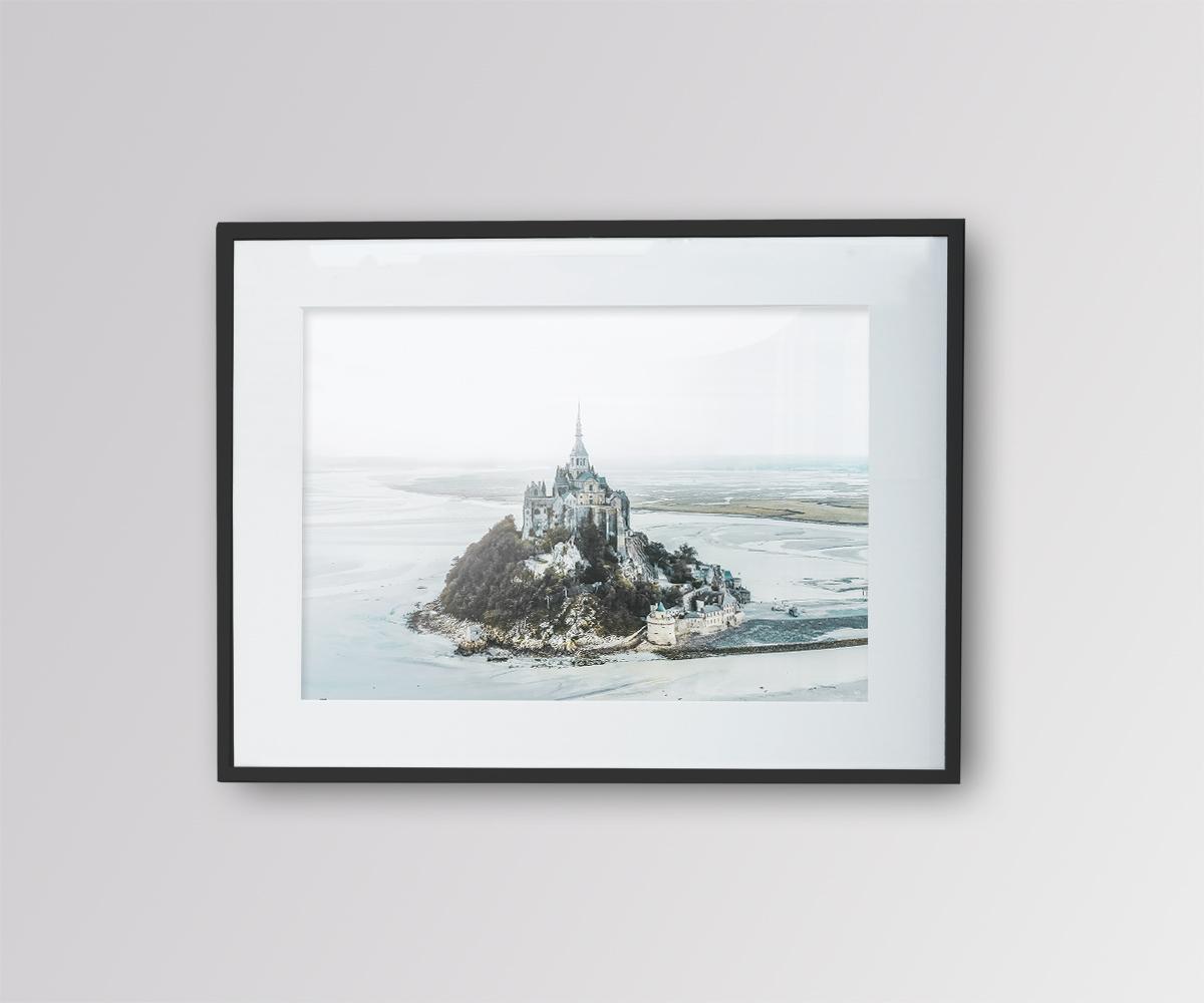 Mont saint michel – vu du ciel