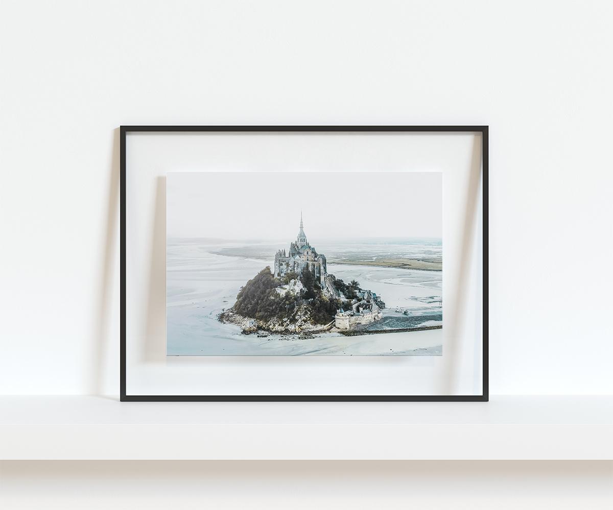 Mont saint michel – vu du ciel3