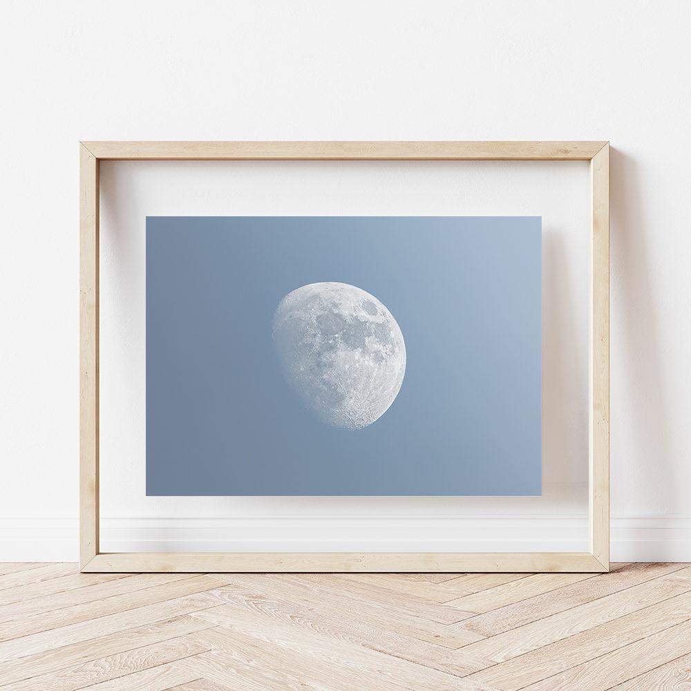 Lune Gibbeuse croissante 2