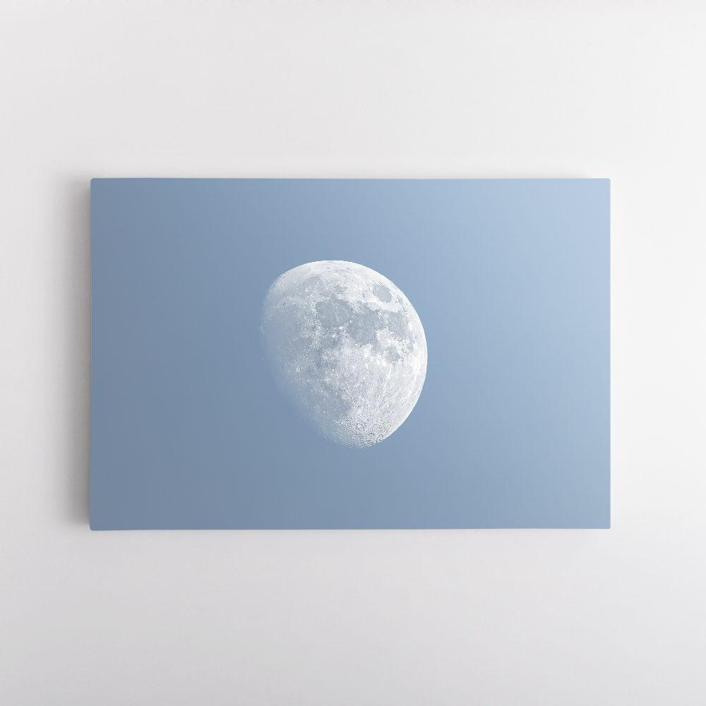 Lune Gibbeuse croissante 3